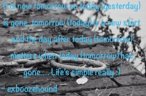 today tomorrow